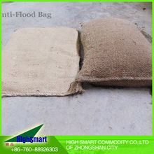 2016 nonwoven sandless Flood control sandbag for anti-flood water stop