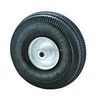 10 inch inflatable pneumatic rubber wheel 4.10/3.50-4