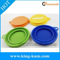New deisgn silicone can lid FDA silicone tin lid tin cans clear lids