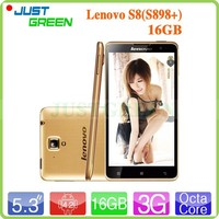 Cheap lenovo 5.3 Inch S8 android 4.2 phone MT6592V Octa Cores phone 2g 16g WIFI Bluetooth mobile phone