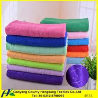 Wholesale microfiber bath towels uk 70*140cm made in China