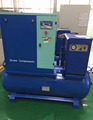 10HP Tank Mounted Screw Air Compressor Machine Prices for sales