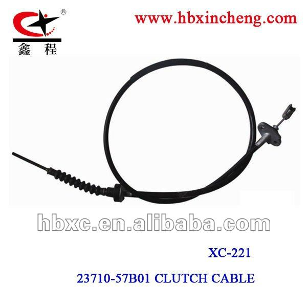 2014 best price Clutch Cable durable for CG125 PVC MATERIAL,high carbon steel inner wire