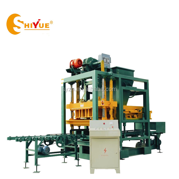 QT4-25 concrete cement hollow solid paver brick making machine hollow block machine in philippines