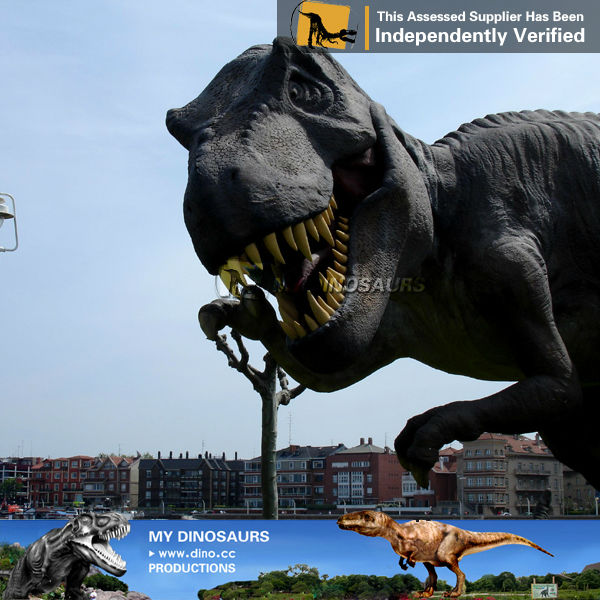 MY Dino-Amusement park decoration metal dinosaur model