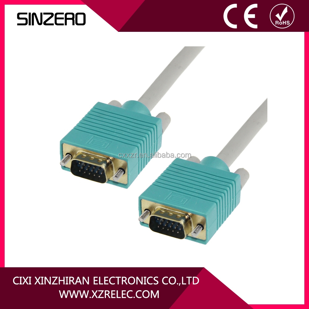 3M MALE TO MALE VGA/VGA PC MONITOR TO TFT CABLE LEAD