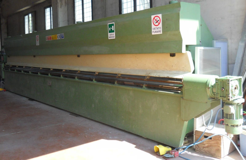 second-hand 3-roll bending press