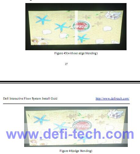 DEFI Interactive floor projection system with 111 effects and necessary hardware/ best price/ free shipping