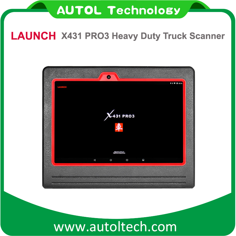Original Truck HD Diagnostic Tool Based On Android LAUNCH X431 PRO3 Heavy Duty Truck Diagnostic Scanner 12V 24V