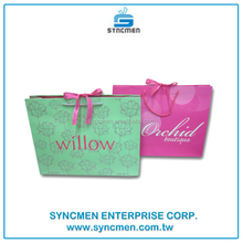 2016 Factory Protective Bag for Clothing, Printed Shopping Paper Bag Design