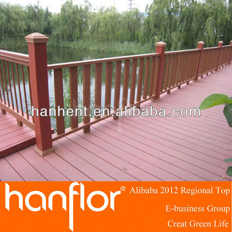Natural Oak Wood decking