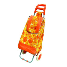 oxford fabric shopping trolley,shopping trolley bag/ foldable trolley bag