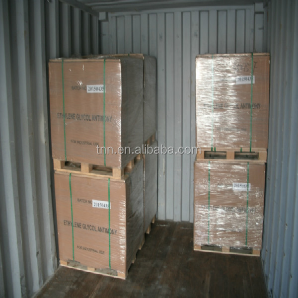 Industry grade 20kg bag Used as polyester catalyst Ethylene glycol antimony