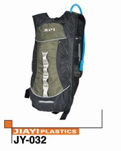 Durable water proof hiking backpack with water bladder