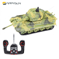 Wholesale Price Plastic 1/72 4Ch Rc Battle Tank For Kids