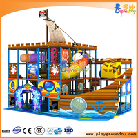 indoor soft play area kids play toy pirate playroom for children