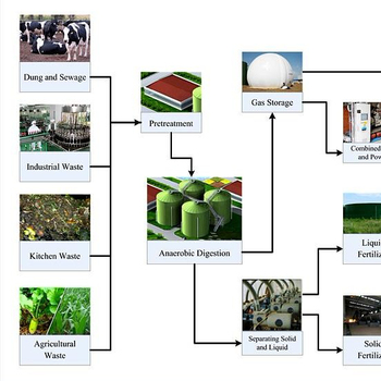 Chicken Manure Treatment with AD Technology Biogas Plant