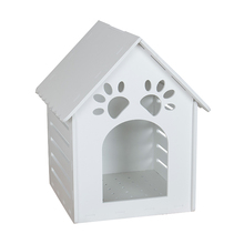 Online wholesale shop plastic pet house waterproof kennel customized dog house