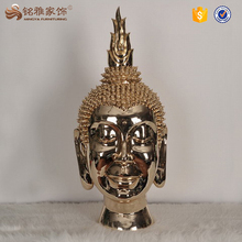 Home Decor resin Buddha Head Statue for sale