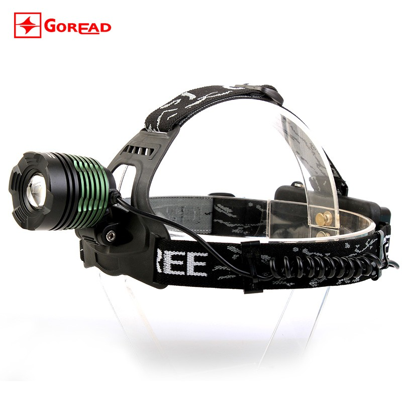 CP Passerby GD18 headlamp flashlight zoomable 10w led head lamp toyota corolla head lamp