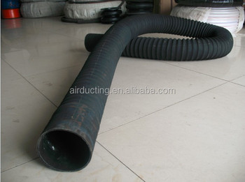 230 DEG.C Black Air ventilation Rubber hose
