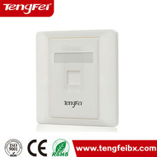 face plate rj45 faceplate wall outlet network cat5e information outlet