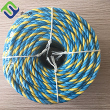 6mm x 400 Meters polypropylene PP split film Blue Telstra Rope
