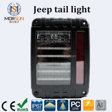 New design Auto accessories for jeep taillight, 12V 24V led tail light for jeep wrangler jk JEEP Wrangler LED taillights