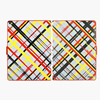 New arrival hot selling case for iPad mini with canvas+PC case for ipad air
