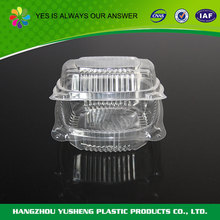 Transparent disposable plastic packaging for cakes,plastic sweet boxes