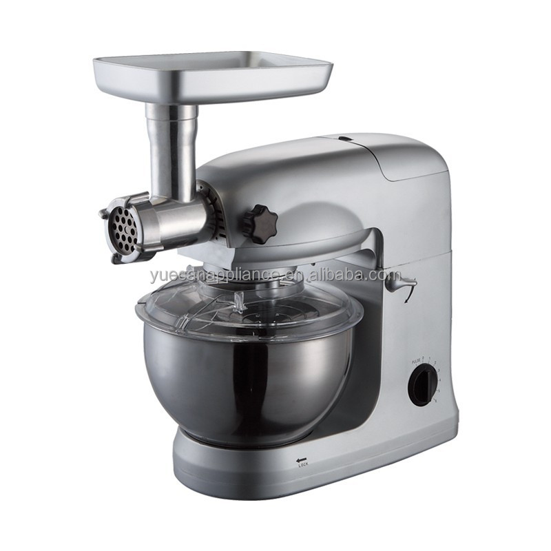multifunation 4 in stand mixer, plastic body, with CE/GS certificate