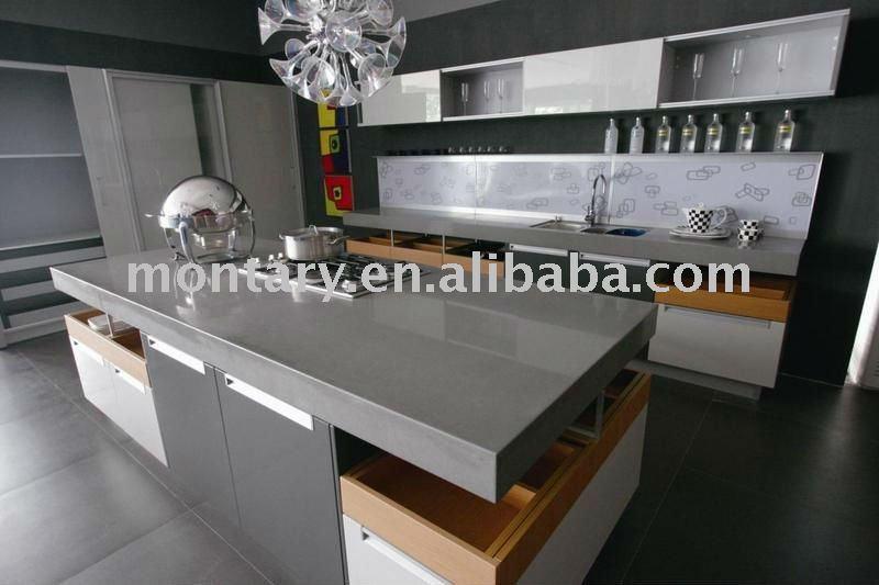 Grey Countertops grey quartz stone countertop - buy quartz countertop,polishing