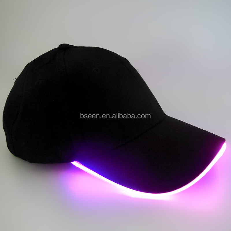 2016 latest products LED Christmas cap for sports
