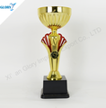 Wholesale China Plastic Golden Trophies Awards Cup
