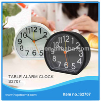 (S2707) silicone alarm clock home decor clock carpet alarm clock