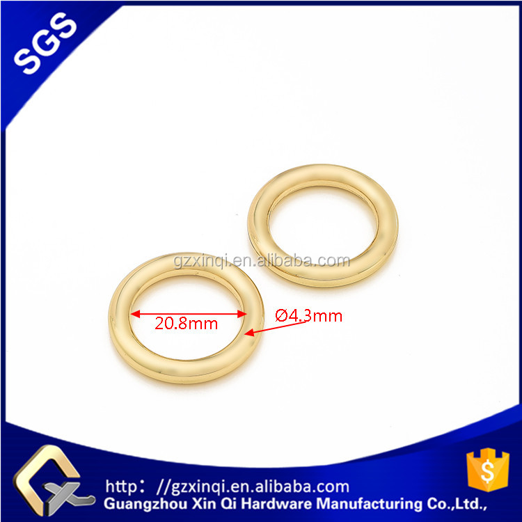 2016 New ring type oval O ring using in handbag