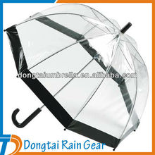 Dome Shape Manual Open POE Material Umbrella