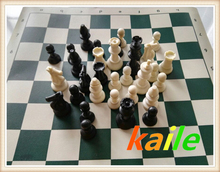 Travel canvas package chess set