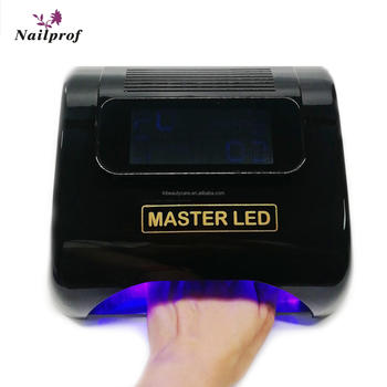 Nailprof 48w rechargeable led uv nail lamp cordless portable nail polish dryer for beauty nail salon