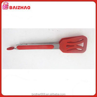 Silicone and Stainless Steel Bread Food Tong