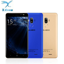 BLUBOO D1 Mobile Phone 5.0 inch HD 8MP Dual Back Camera MTK6580 Quad Core 2G RAM 16G ROM Android 7.0 Nougat 2600mAh Smartphone
