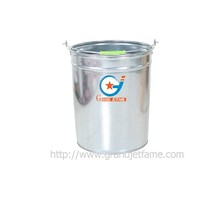 plastic handle 5 gallon metal pail