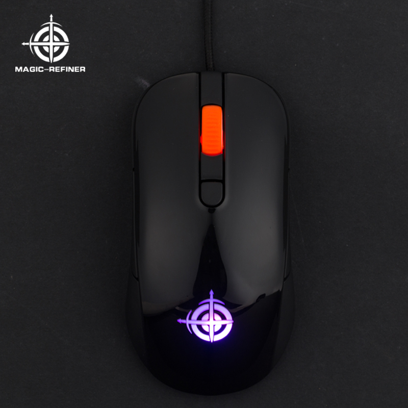 Alibaba Wholesale RGB Color 6D bulk computer mouse for gaming with Custom Macros Key