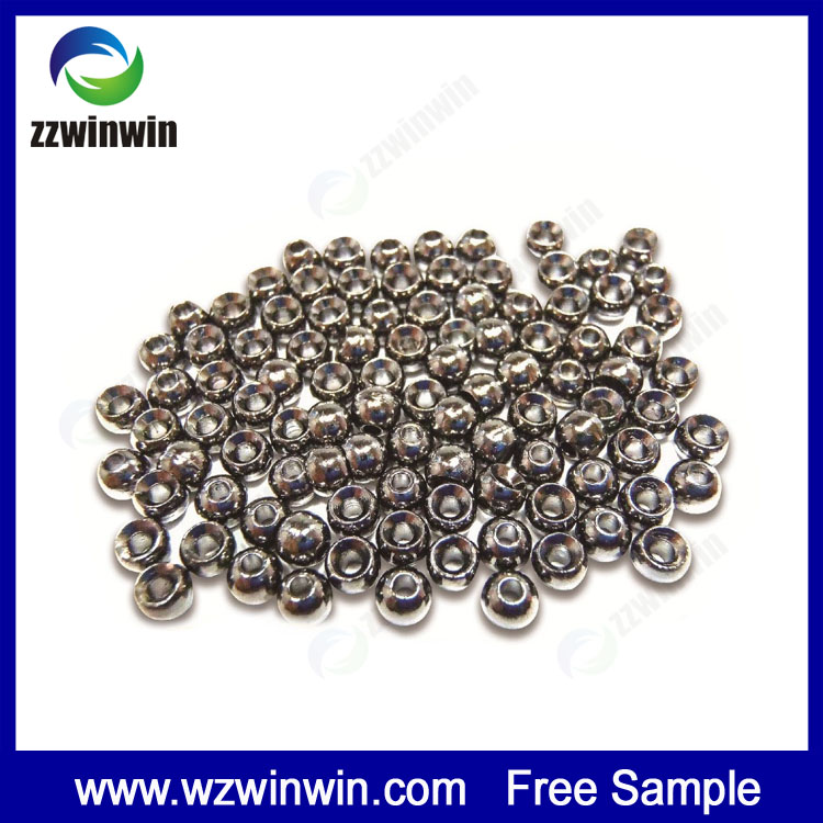 Custom 90%-99% tungsten beads 2.2 mm 18g/cc