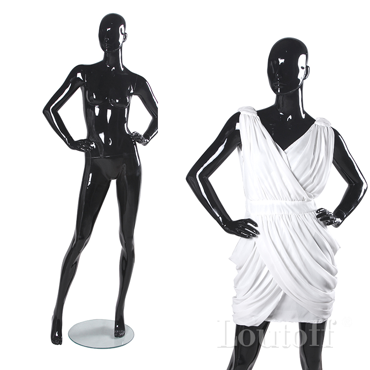 shop store fiberglass fashion cheap female mannequins