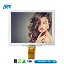 24bit RGB interface 8inch 800x480 resolution TFT LCD Display