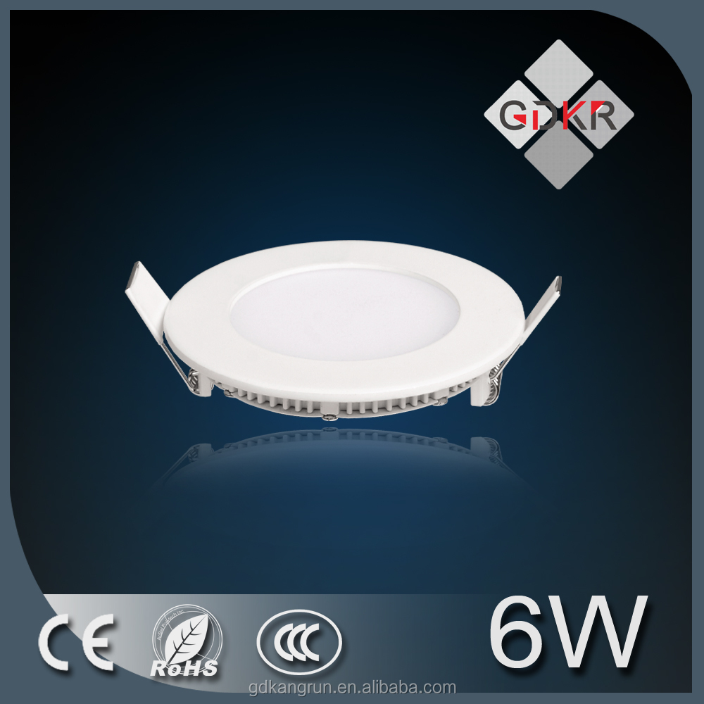 small round led panel light