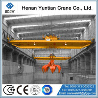 Good Performance Double Girder Grab Bucket Overhead Crane