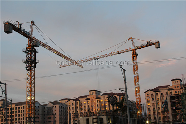 used potain mc310/k12 12ton tower crane