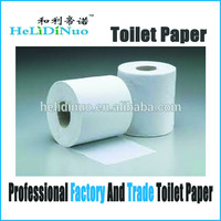 Wholesale Raw Material Price 100% Virgin Wood Toilet Tissue Paper